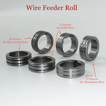 Wire Feeder Roll V U K Knurl Groove 30x22x10mm for 0.8 1.0 1.2mm Steel Aluminum Flux Cord Welding Wire MIG Welding Machine цена 2017