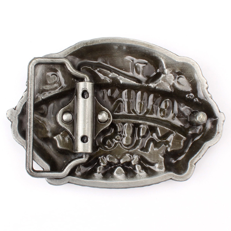 High Quality Cool Aztec Calendar Men's Metal Belt Buckle Fit 3.8cm Wide Belt Jeans Accessories