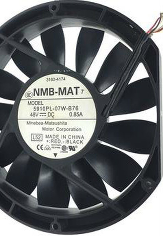 For 17025 0.85A 17CM 5910PL-07W-B76 48V Four Wire Slim Chassis Cooling Fan Free Shipping