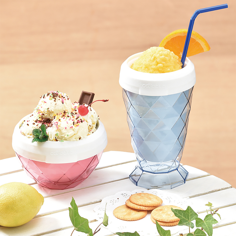Smoothie Cup Ice Cream Maker For Home Soft Fruit Diy Machine Kids