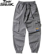 Cargo-Pants Streetwear Track-Trousers Pockets Men Joggers Harajuku Casual Cotton Autumn