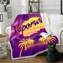 Одеяла 3D цифровая печать одеяло диван одеяло Толстовка рождественские украшения для дома огнестойкие