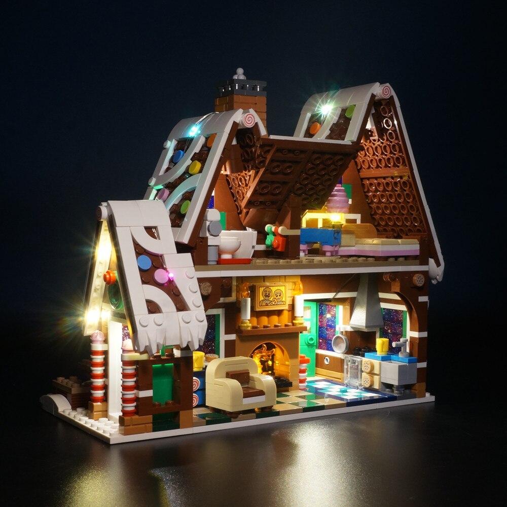 LED Light Kit for Lego 10267 Lego Gingerbread House
