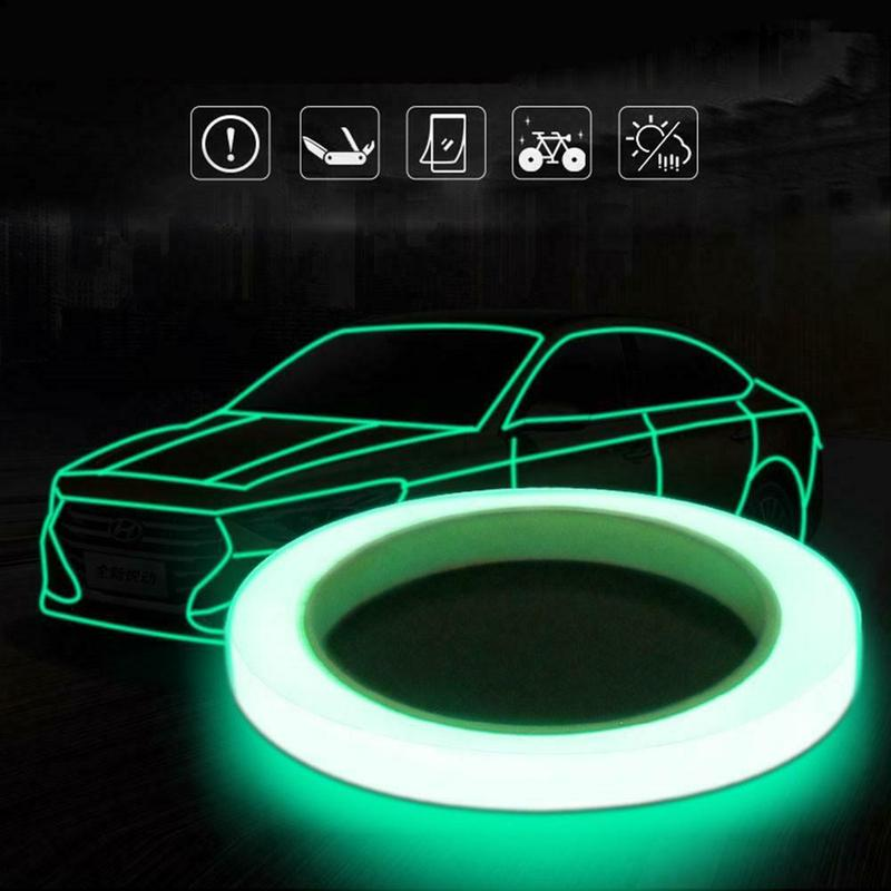 Reflective belt fluorescent bicycle riding reflective sticker tape