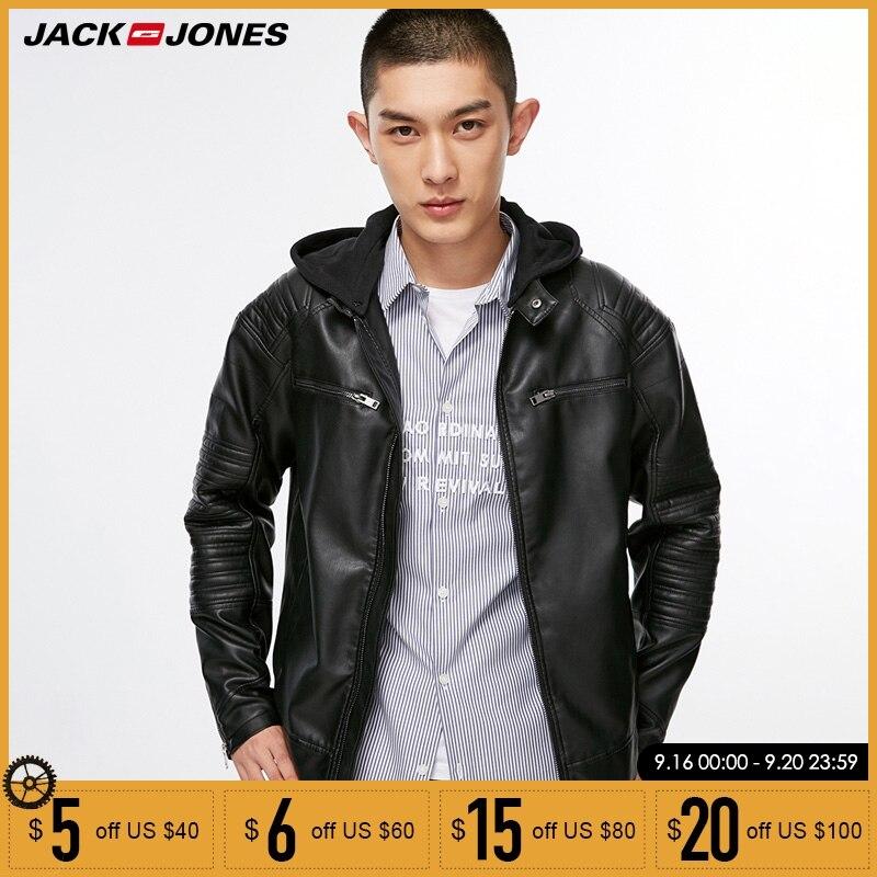 Jack Jones veste en cuir PU tenue pour cycliste pour homme | 218321558