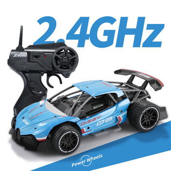 1:16 RC Drift Racing Car 2.4G 2WD Metal High Speed Remote Control 600mAh toys for kids children boys girls gift #C 2