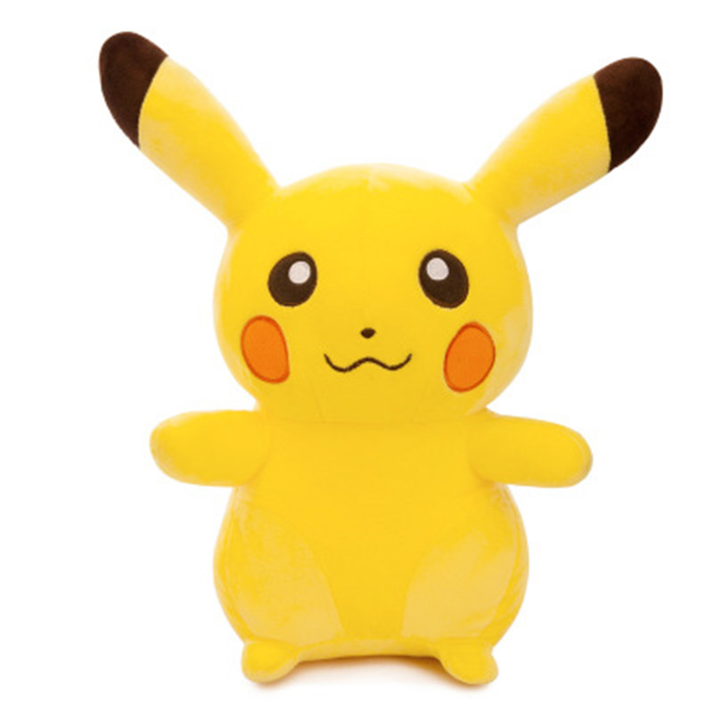 30-60cm Lovely Pikachu Plush Toys Stuffed Soft Cartoon Anime Dolls Cute Pillow For Kids Children Christmas Gifts High Quality