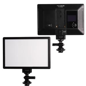 Image 2 - TOAZOE T119S Ultra thin LED Video Light Photography Fill Light 3300K 5600K CRI95+ for Canon Nikon Sony Panasonic DSLR Camera