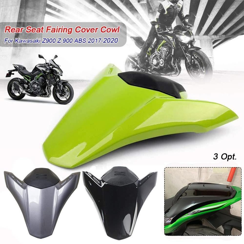 Artudatech Motorbike Rear Seat Cover Cowl Passenger Pillion Motorcycle Seat Cowl Fairing Tail Cover for K-A-W-A-S-A-K-I Z1000 2011 2012 2013