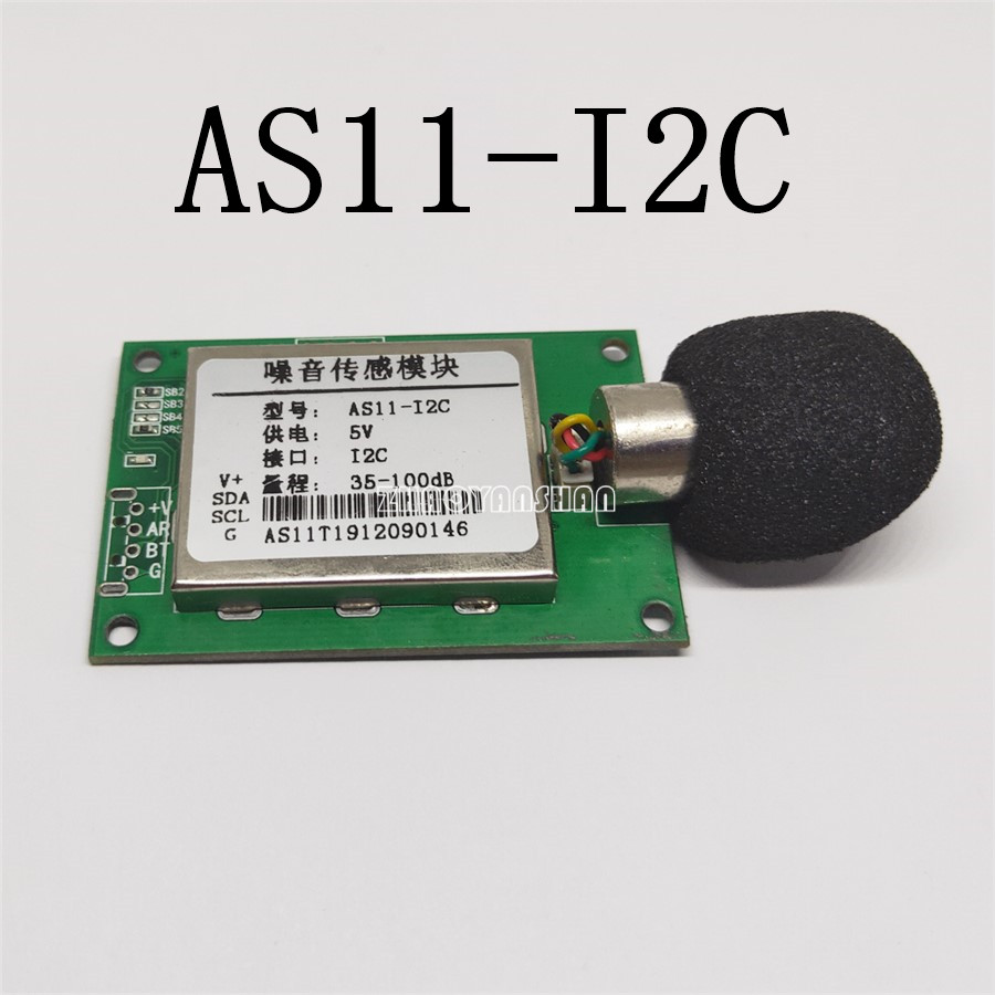AS11-C IIC I2C AS11 Noise decibel sensor module. Sound detection detector.