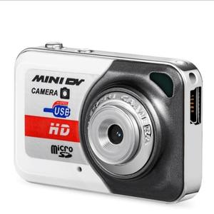 Image 2 - Portable X6 Ultra Mini HD High Denifition Digital Camera Mini DV Support 32GB TF Card with Mic USB Flash Drive for Camera