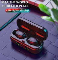 TWS Bluetooth Earphone5.0 True Wireless 3D Stereo Earbuds With Dual Mic Sports Waterproof Earphones Auto Pairing Headset for ios