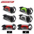 Ullicyc 4 farbe legierung + 3k carbon 6/17 grad stamm mountainbike rennrad 60 120mm vorbau frok 28 6mm bar 31 8mm LGA01-in Fahrrad-Stamm aus Sport und Unterhaltung bei