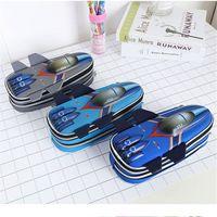 3D Eva Aircraft Pencil Case For Boy Large Capacity Cute School Pencil Box High Quality Pen Case Pen Pouch Bag
