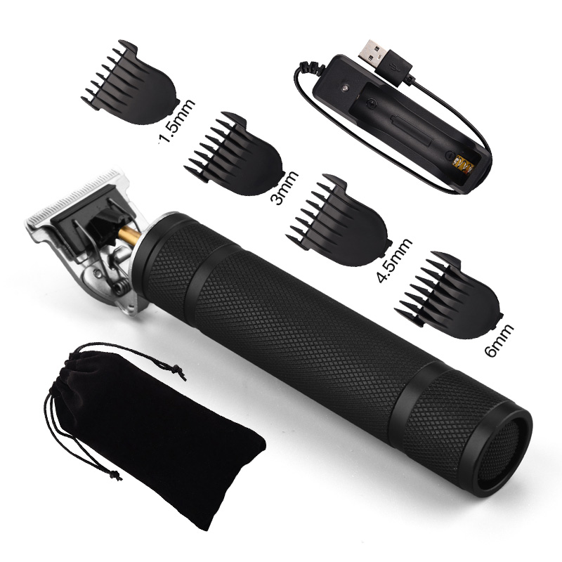 NO BOX-USB Rechargeable T9 Hair Clipper