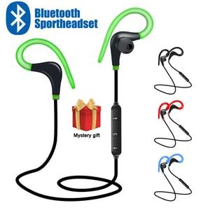Image 1 - Sport bezprzewodowe słuchawki Bluetooth słuchawki stereofoniczne zaczep na ucho BT 01 Hifi słuchawki douszne z mikrofonem do telefonu Samsung LG Xiaomi