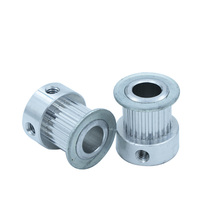 Aluminum Alloy MXL Type Timing Pulley 22T 22 Teeth 5/6/6.35/7/8mm Inner Bore 2.032mm Pitch 7/11mm Belt Width Synchronous Pulleys