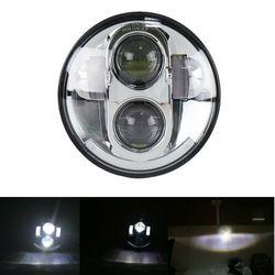 Nowy reflektor LED motocyklowy 5.75 Cal 40W DRL Halo lampa projektora Hi/Lo BeamWaterproof Rate IP67