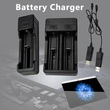 Battery Charger Universal Smart Chargering for Rechargeable Batteries Li-ion 26650/18650/18500/16340/14500/10440(China)