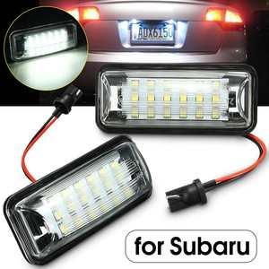 2X LED Number License Plate Light Lamp for Subaru Forester Impreza Legacy BRZ WRX XV Crosstrek TOYOTA FT86 GT86 Scion FR-S