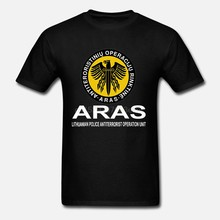Lithuanian-Special-Police-Unit-Forces-Aras-T-Shirt-Double-Side-2019-Summer-Brand-Men-Homme-Brand(China)