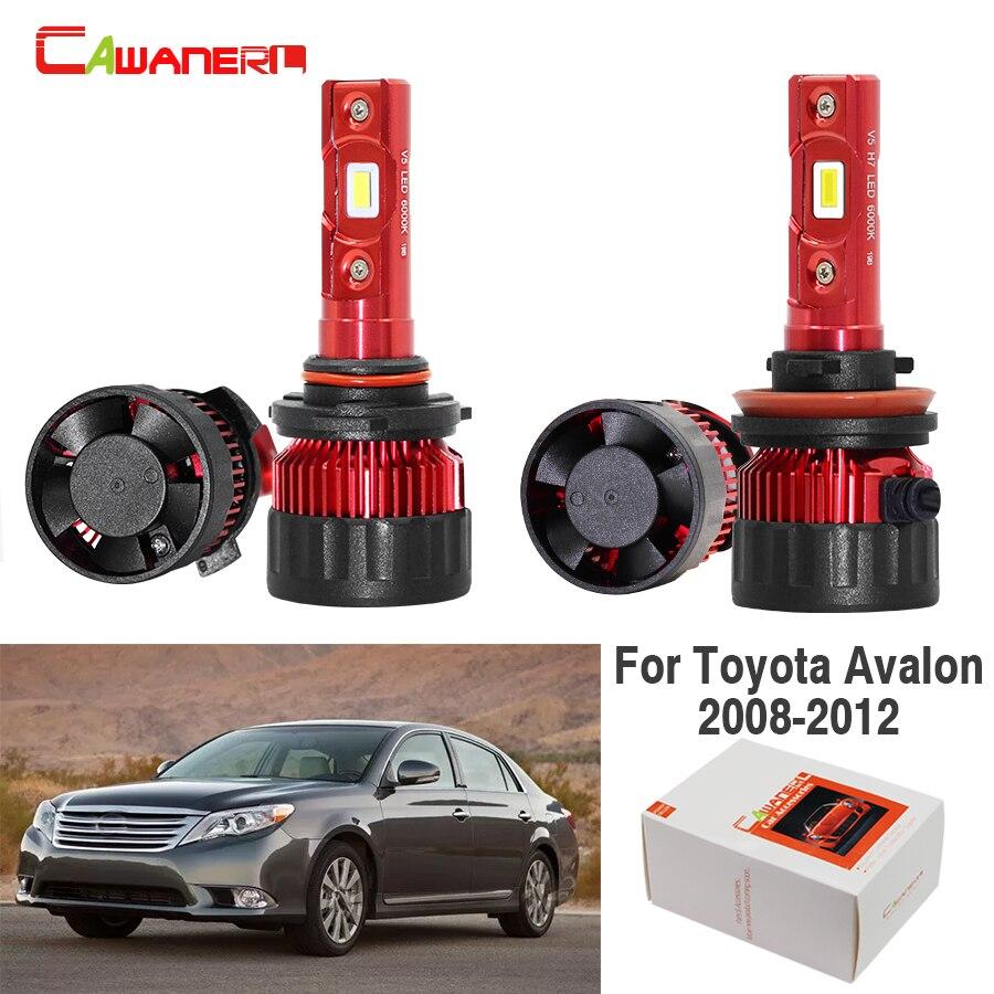 Cawanerl voiture 60W phare LED ampoule feux de croisement haut H11 9005 blanc Auto phare 12V pour Toyota Avalon 2008 2009 2010 2011 2012