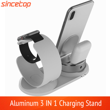Adjustable Desk charge phone Holder For Apple watch stand table Charging Dock Station base for iPhone 8 Charger support