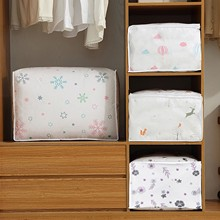 1pcs Clothes Quilt Storage Bag Blanket Closet Sweater Organizer Box Sorting Pouches Cabinet Container Travel Compression bag