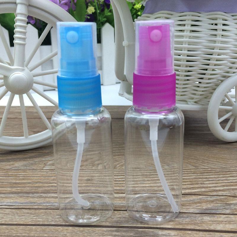 Mini Make Up Botttle Plastic Traveler Transparent 10/20/30/75 Empty M02069 Bottle Ml Spray O2K4