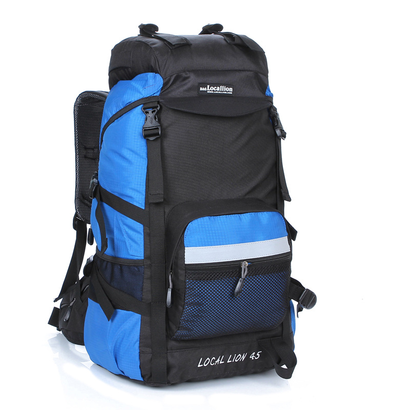 Cross Border for Local Lion 45L60L Holder Outdoor Bag Mountain Climbing Outdoor Backpack 394 Climbing Bags     - title=