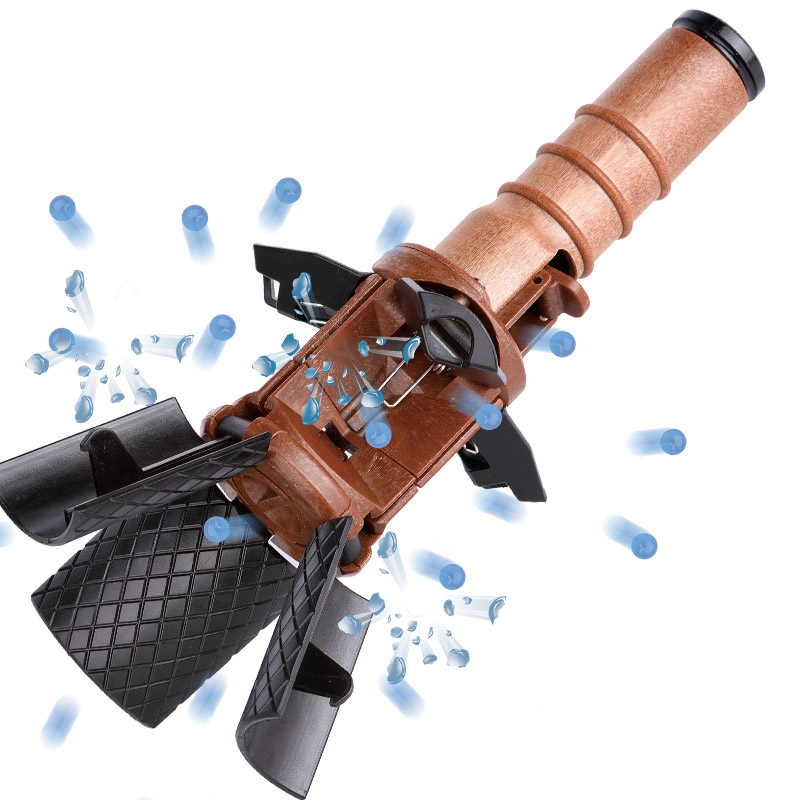 Water bomb thunder M18 grenade burst toy gun game model props children adult egg toy elite cs eat chicken(China)