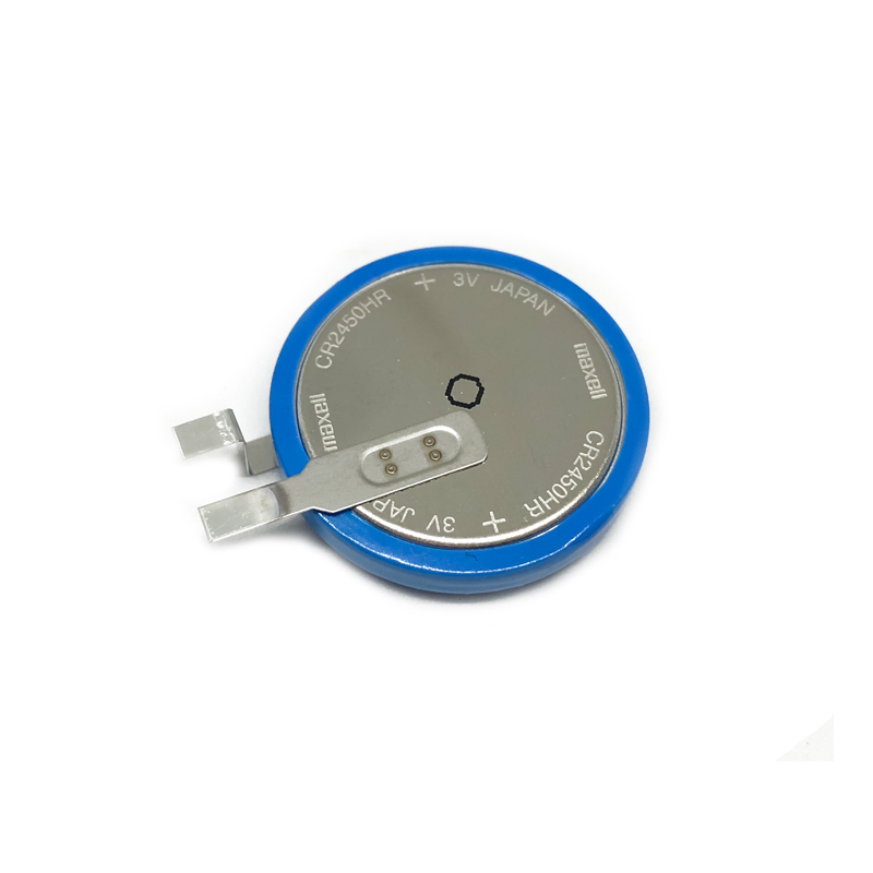 New Original MAXELL high-temperature lithium manganese dioxide battery CR2450HR CR2450 2450 3V
