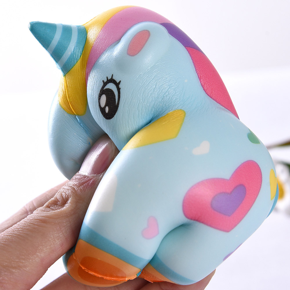 Squishy Fun Toys Anti-stress Entertainment Unicorn Squishy Slow Rebound Decompression Squeeze Toys For Kids Adults Stress Relief