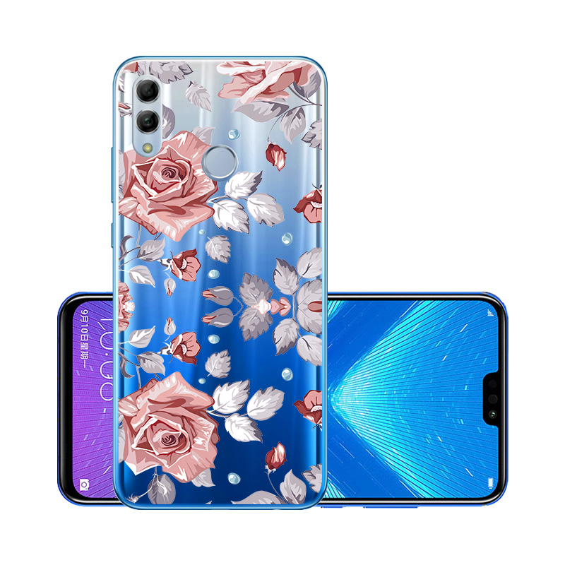 3D DIY Painted Case For Huawei Honor 10 Lite Case Silicon Transparent Bumper Huawei P40 Lite Honor 9A 9S 9C 10I 20I 20 Pro Cover