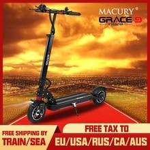 MACURY – Trottinette pliable électrique GRACE 9 pour adulte, équipement 2 roues poids plume 48 V, taille 8,5 pouces, mini et léger, hoverboard, GRACE & ZERO 9, T9 9S