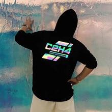 Men Hoodie C2H4 Sweatshirts 2019 New Black Cotton Graphic Logo C2H4 Hoodies Featuring Drawstring Hood Long Sleeves Women MMJ все цены