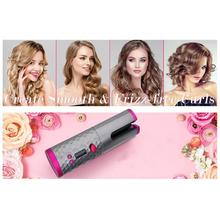 USB Automatic Intelligent Cordless Hair Curler iron wireless