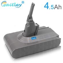 다이슨 V8 배터리 21.6 mAh 진공 청소기/소니 배터리 용 Waitley 4500 V 4.5Ah V 8 리튬 이온 교체 용 리튬 배터리