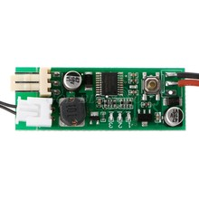 DC 12V Temperature Speed Controler Denoised Speed Controller for PC Fan/Alarm(China)