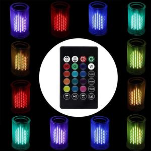 Image 4 - Smart E27 8W LED Bulb RGB Light Bluetooth Audio Speaker LED Light Bulb Music Playing Dimmable Light with 24 Keys Remote Control