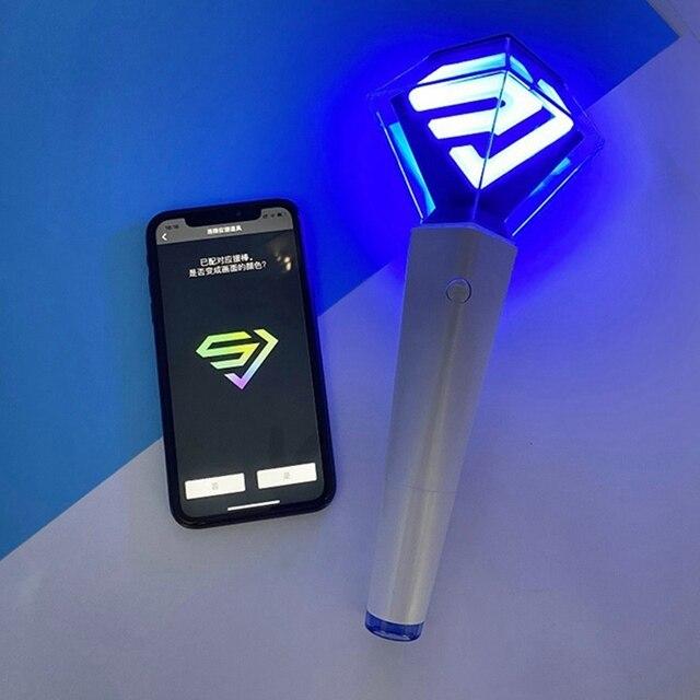 Kpop Super Junior bâton lumineux pour Concert Tour main lampe lumière Concert lueur bâton lampe Mini Lightstick pour les Fans cadeau