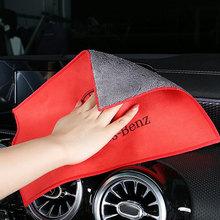 Mercedes benz auto reinigung tuch Für amg w203 w204 w205 w212 w213 w176 w117 gla auto Innen zubehör dekoration außen cheap CN (Herkunft)