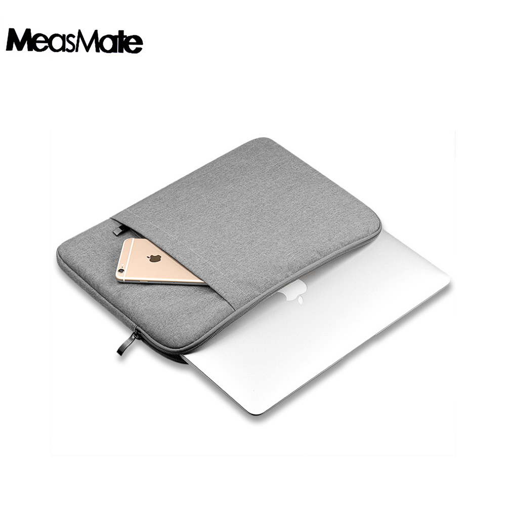 Nylon Laptop Sleeve <font><b>Notebook</b></font> Bag Pouch <font><b>Case</b></font> for Macbook Air 11 13 12 <font><b>15</b></font> Pro 13.3 <font><b>15</b></font>.4 Retina Unisex Liner Sleeve for <font><b>Xiaomi</b></font> Air image