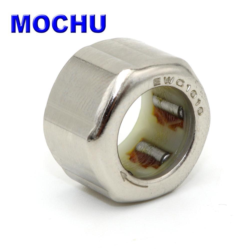1PCS EWC1010 EWC101610 10X16X10 10*16*10 MOCHU Outer Ring Hexagon One Way Needle Roller Bearing For Fishing Gear