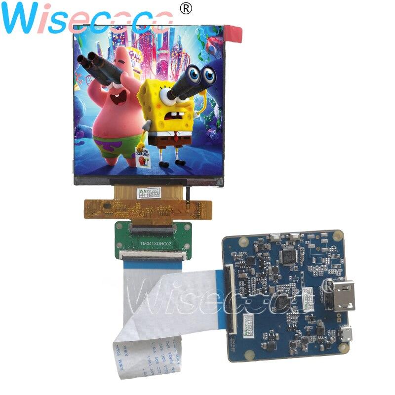 4,1 дюйма 720 × 720 247PPI IPS ЖК-дисплей экран TM041XDHC02 с HDMI MIPI 40 штифтов плата контроллера