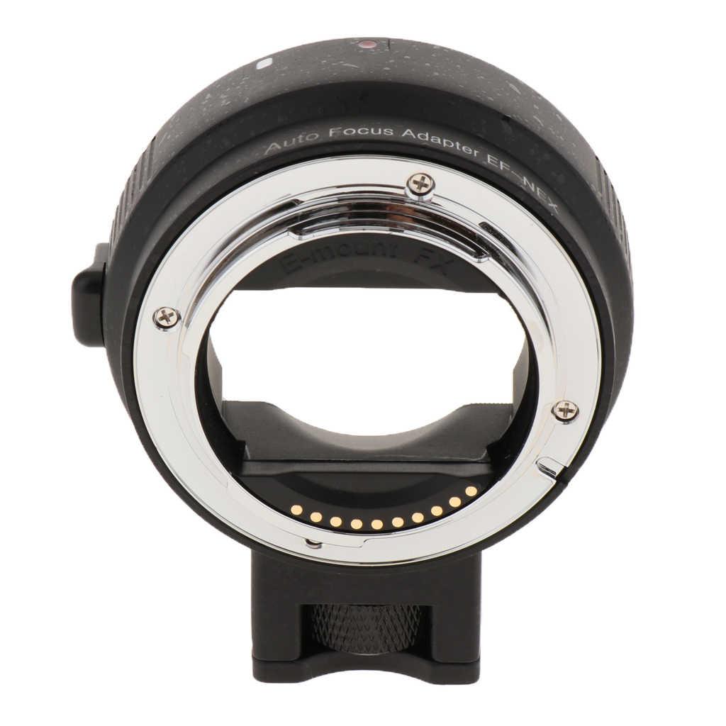 Adaptateur électronique de mise au point automatique pour objectif Canon EOS EF EF-S pour Sony E Mount NEX-7 de corps de caméra plein cadre 6 5 A7S A7R II