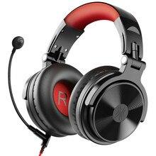 Oneodio auriculares inalámbricos por Bluetooth 5,0, auriculares plegables por encima de la oreja con micrófono extendido para videojuegos, para iPhone y Xiaomi