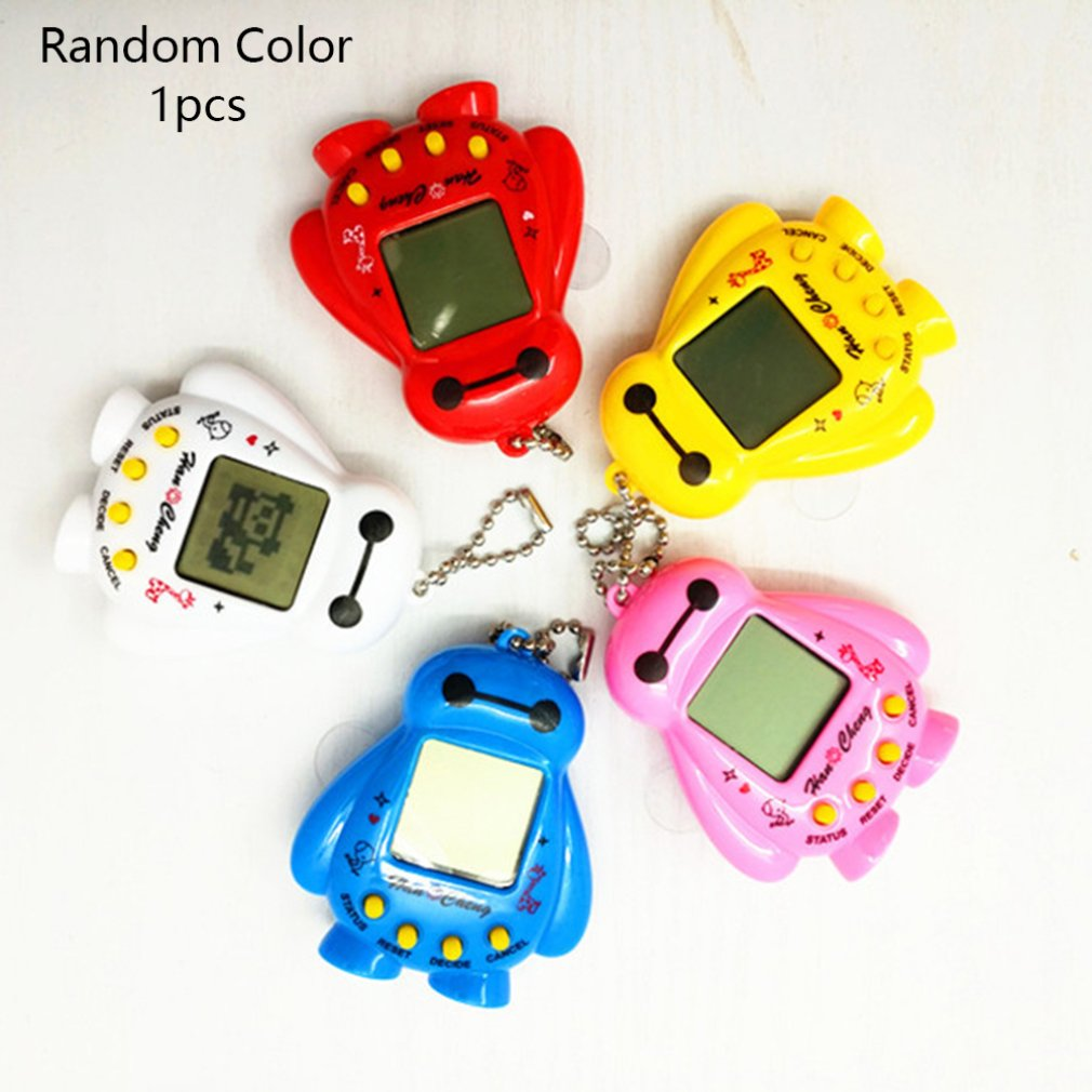 Mini Electric Intelligence Developmental Electronic Game Machine Virtual Pet Shaped Video Game Console