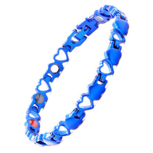 Blue Bracelet Heart-Shaped Love-Guard-You Five-In-One Elegant New