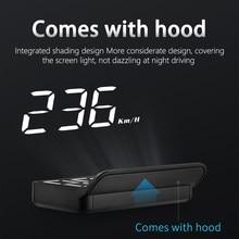 3,5 дюйма HUD автомобиля головой вверх Дисплей OBD2 мини M3 HUD цифровой лобовое стекло проектор автоматический электронный охранной сигнализации...